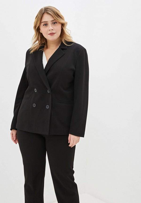 женский пиджак sophia, черный