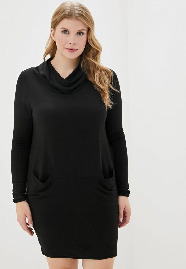 женское повседневные платье sophia, черное