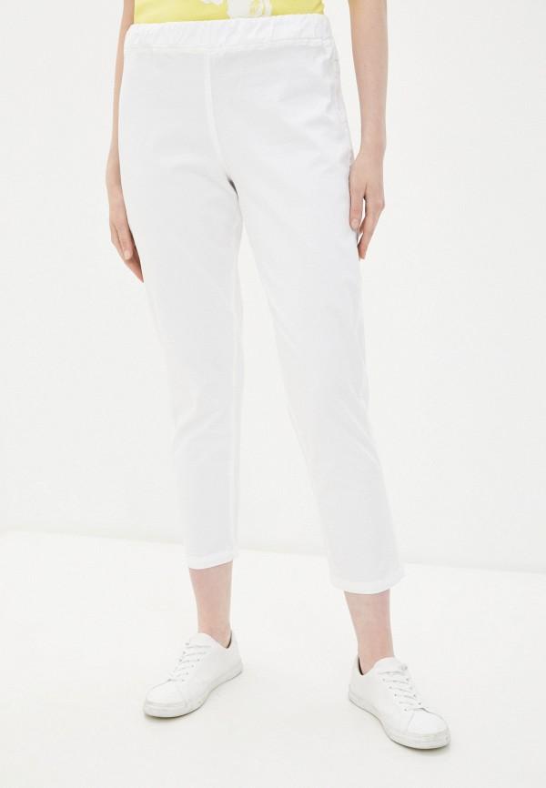 женские прямые брюки sophia, белые