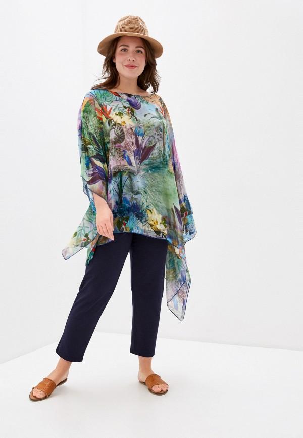 женская туника sophia, разноцветная