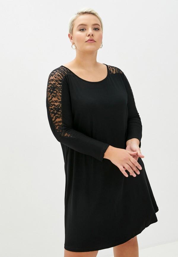 женская туника sophia, черная