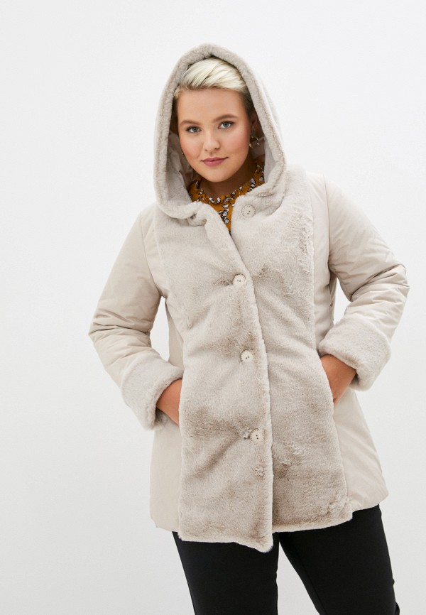 женская куртка sophia, бежевая