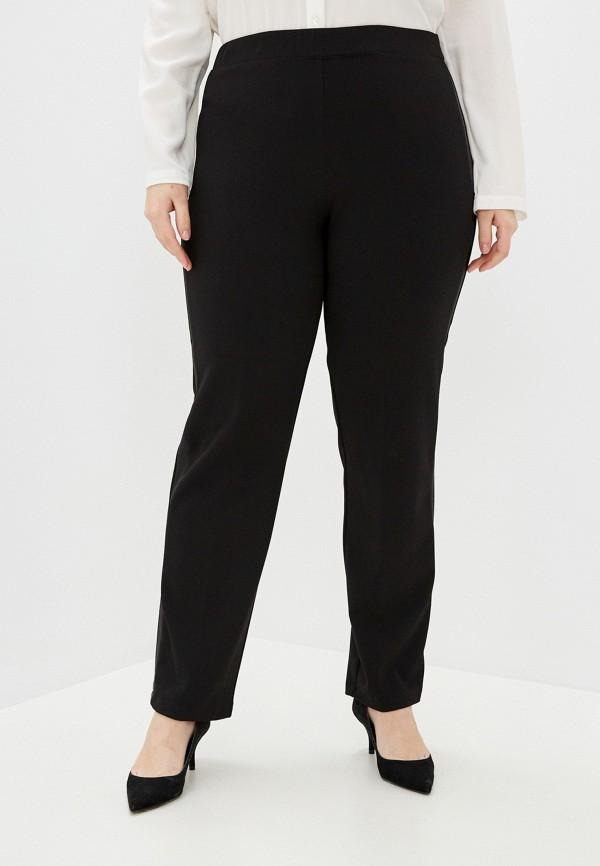женские прямые брюки sophia, черные