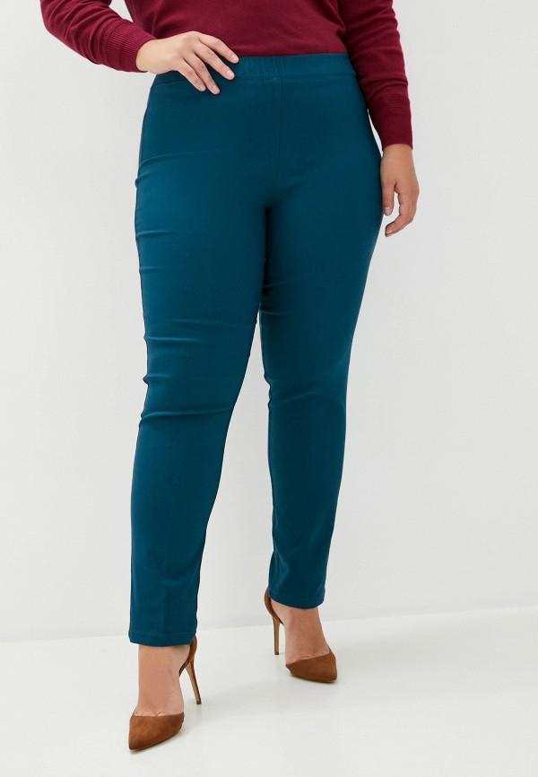 женские брюки sophia, бирюзовые