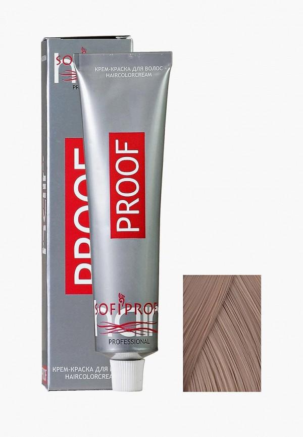 Купить Краска для волос Sofiprofi, PROOF 60мл 7.0 средне-русый натуральный, so046lwehao9, прозрачный, Весна-лето 2019