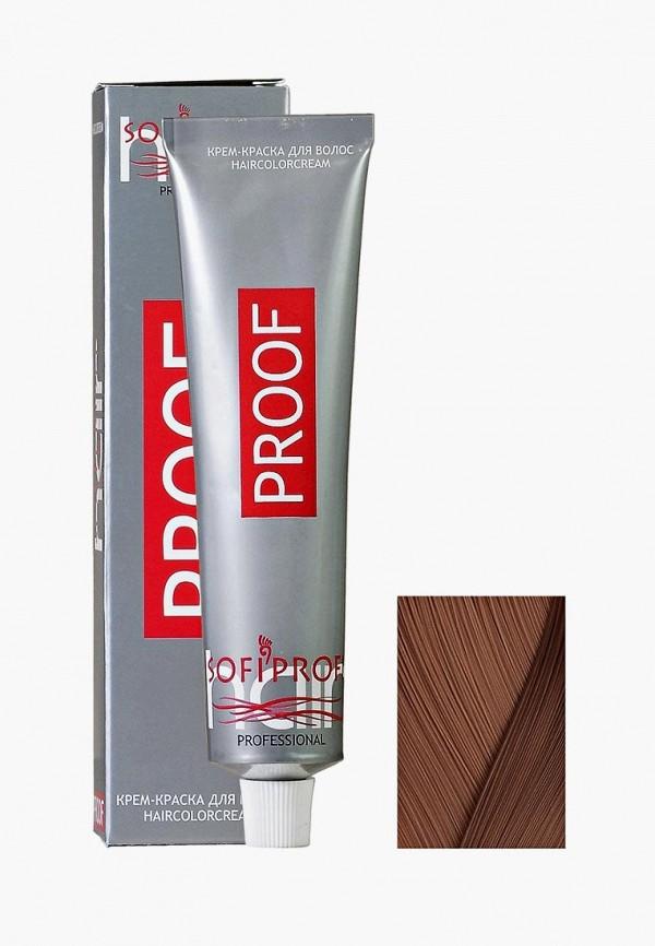 Купить Краска для волос Sofiprofi, PROOF 60 мл, 7.3, средне-русый, золотой, so046lwehap2, коричневый, Весна-лето 2019