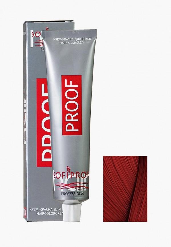 Купить Краска для волос Sofiprofi, PROOF 60мл 7.46 средне-русый медно-красный, so046lwehap5, Весна-лето 2019