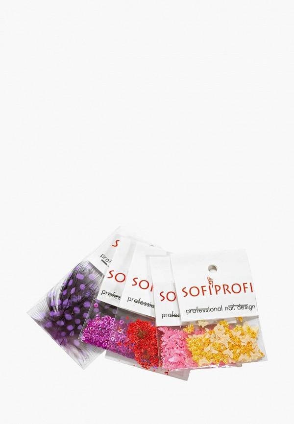 Фото - Набор для дизайна ногтей Sofiprofi Sofiprofi SO046LWEHAR2 шаблоны для дизайна ногтей larry s store 8pcs na144