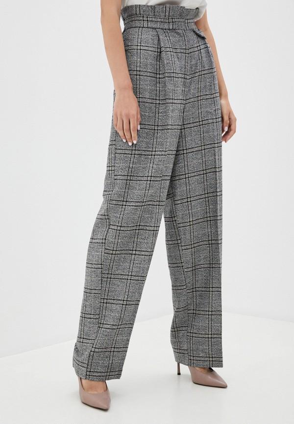женские повседневные брюки soaked in luxury, серые