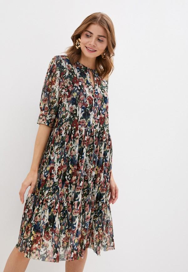 женское повседневные платье soaked in luxury, разноцветное