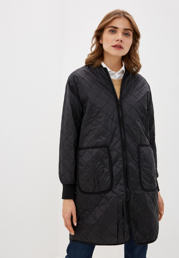 женская куртка soaked in luxury, черная
