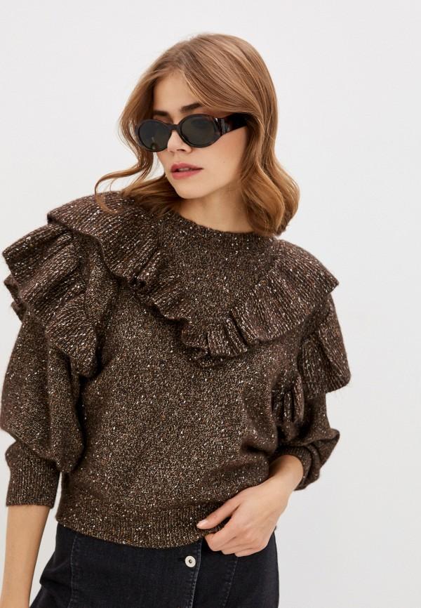 женский джемпер soaked in luxury, коричневый