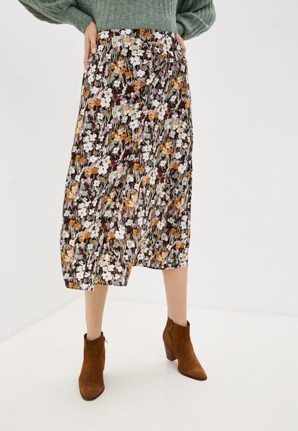 женская юбка soaked in luxury, разноцветная