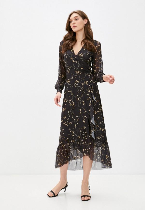 женское платье soaked in luxury, черное