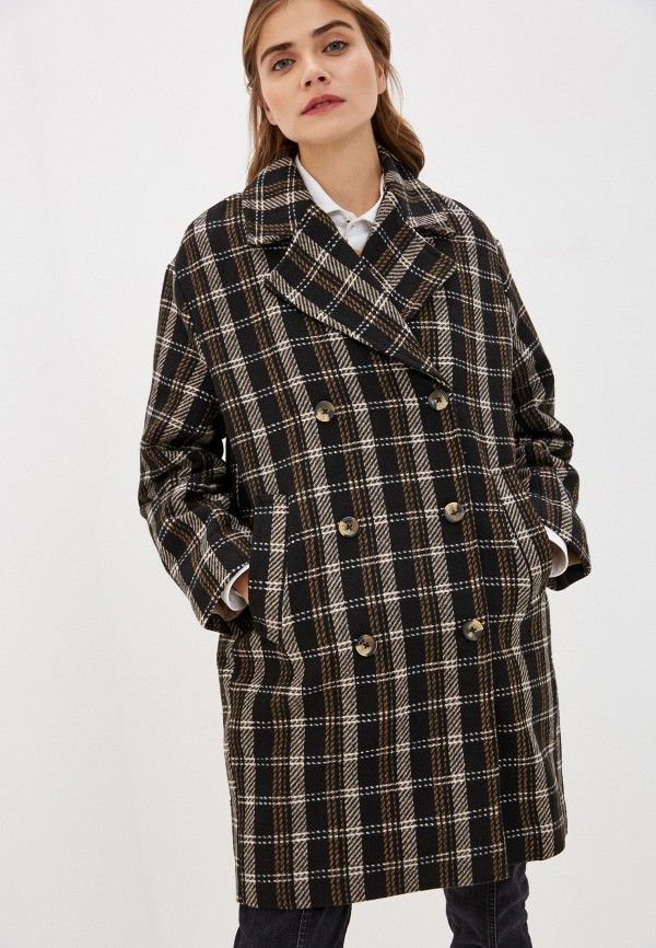 женское пальто soaked in luxury, разноцветное