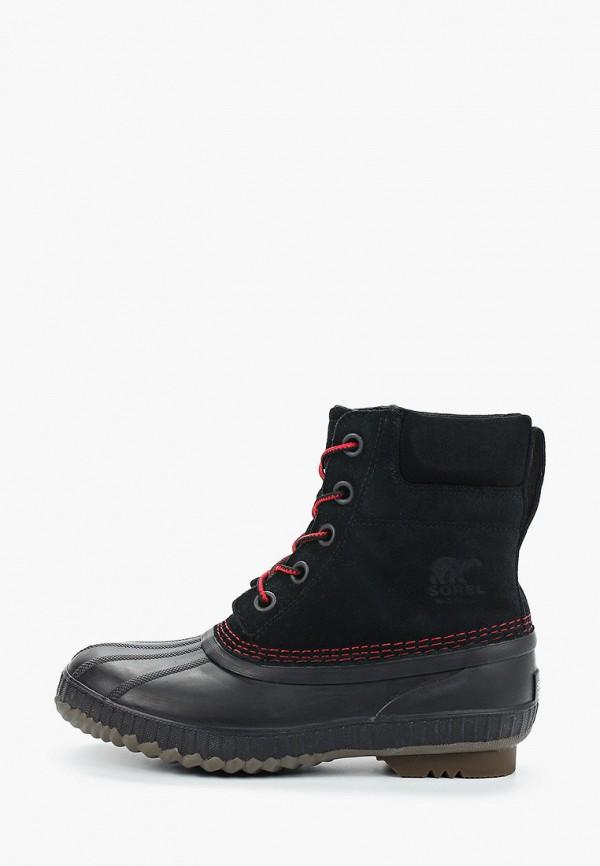 ботинки sorel малыши, черные