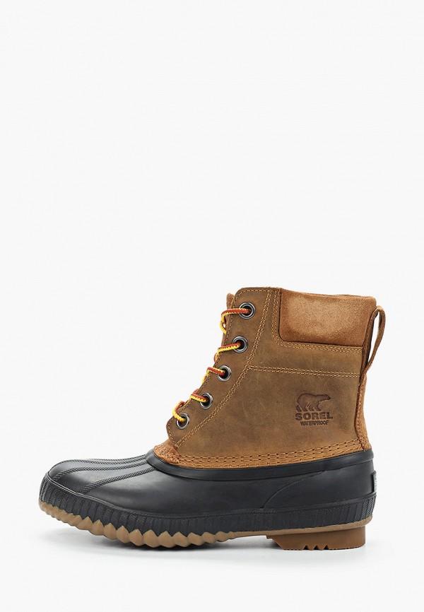 ботинки sorel малыши, коричневые