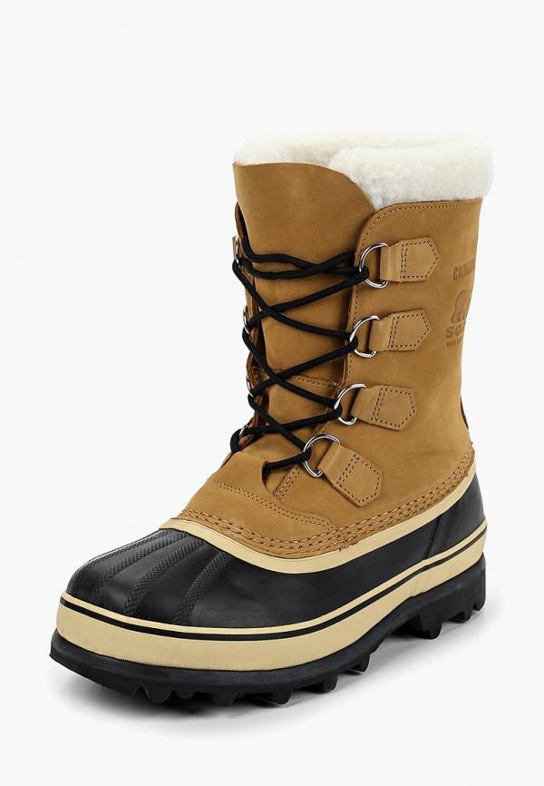 мужские ботинки sorel, бежевые