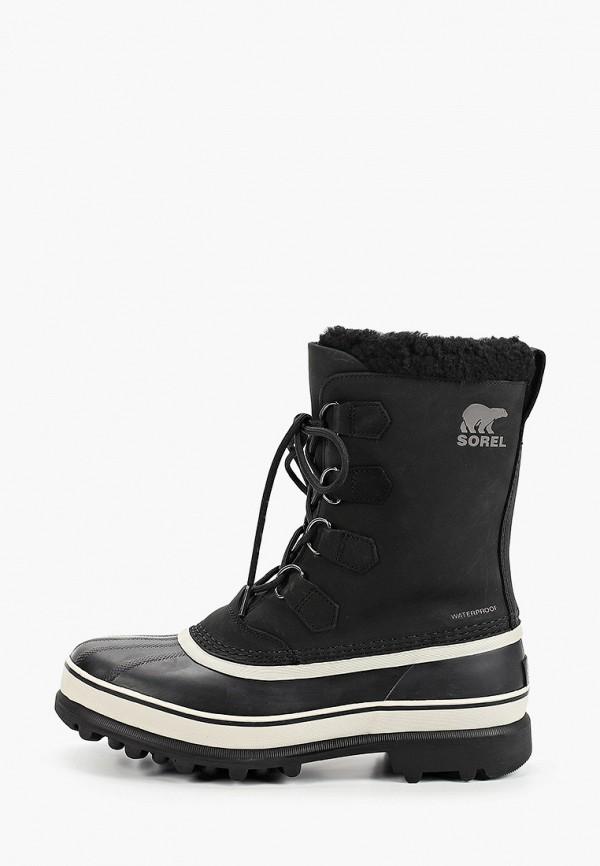 мужские ботинки sorel, черные