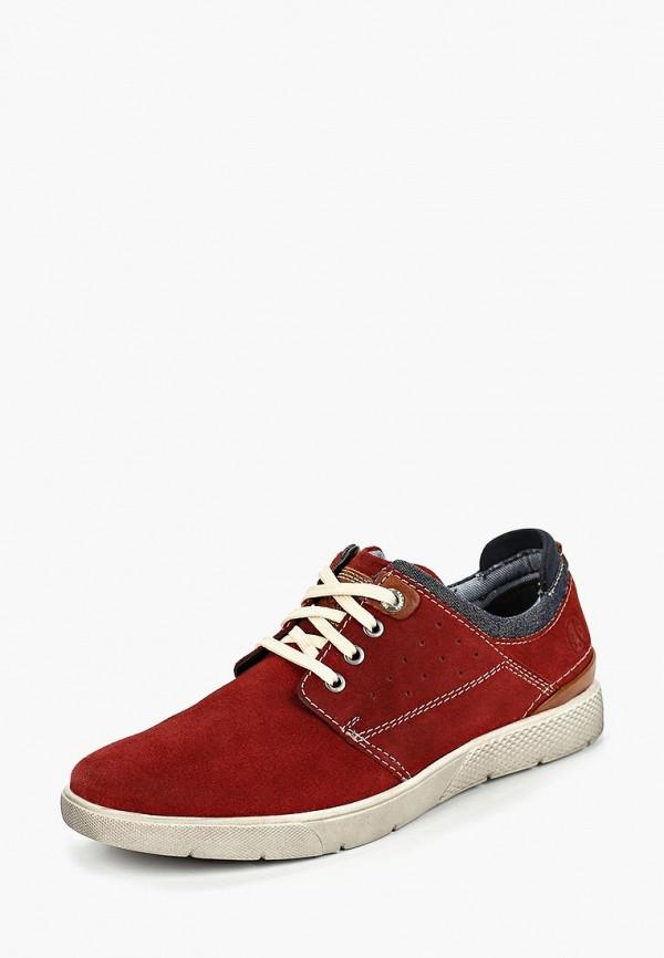 Фото 2 - мужские ботинки и полуботинки s.Oliver красного цвета