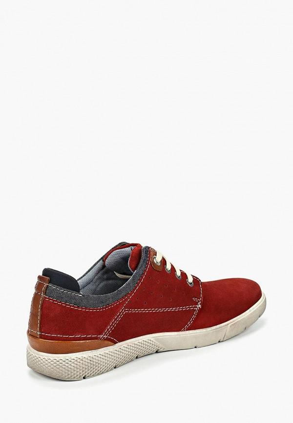 Фото 3 - мужские ботинки и полуботинки s.Oliver красного цвета