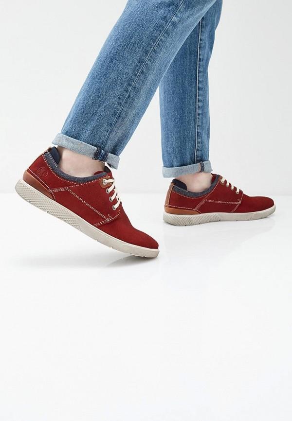 Фото 6 - мужские ботинки и полуботинки s.Oliver красного цвета