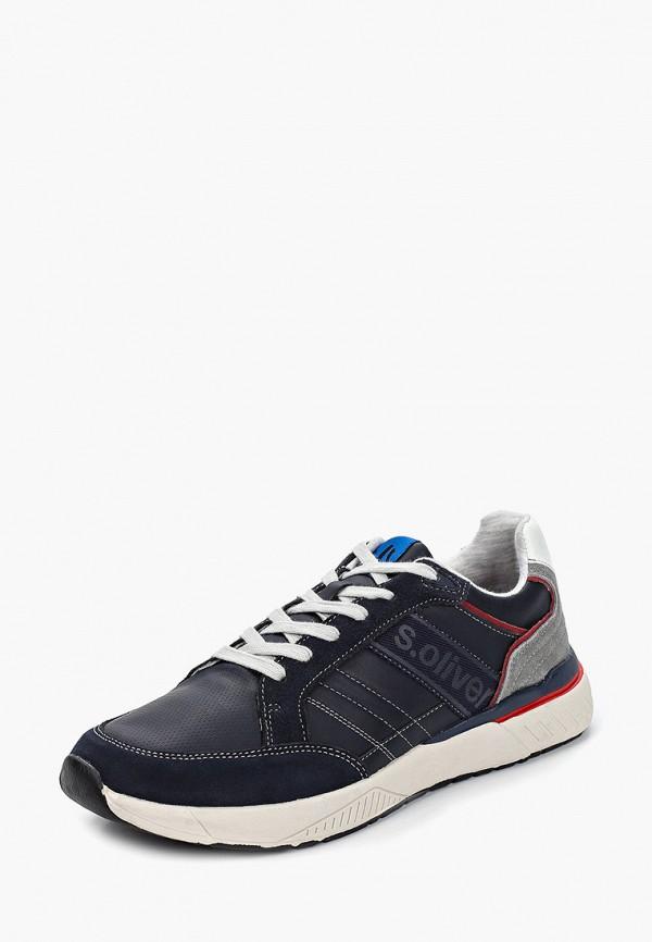 Фото 2 - мужские кроссовки s.Oliver синего цвета