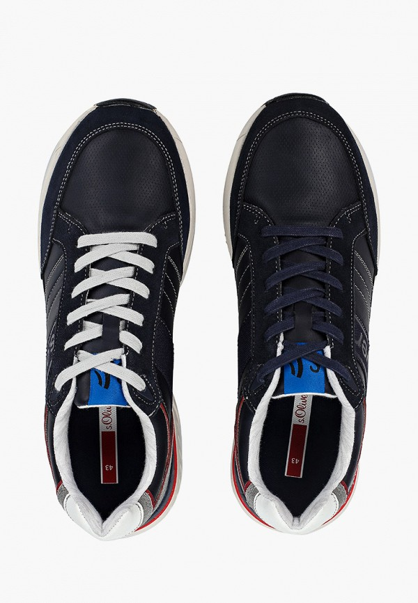 Фото 4 - мужские кроссовки s.Oliver синего цвета