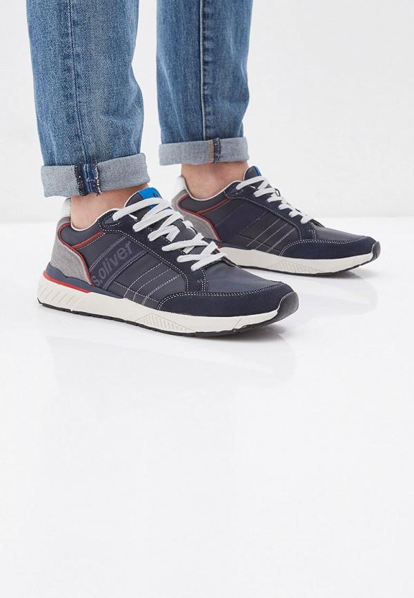 Фото 6 - мужские кроссовки s.Oliver синего цвета