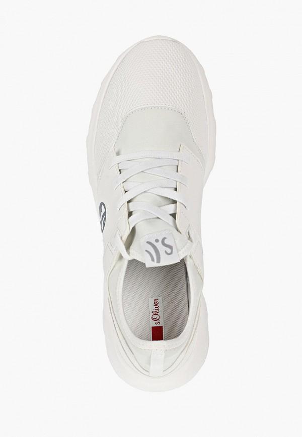 Фото 4 - мужские кроссовки s.Oliver белого цвета