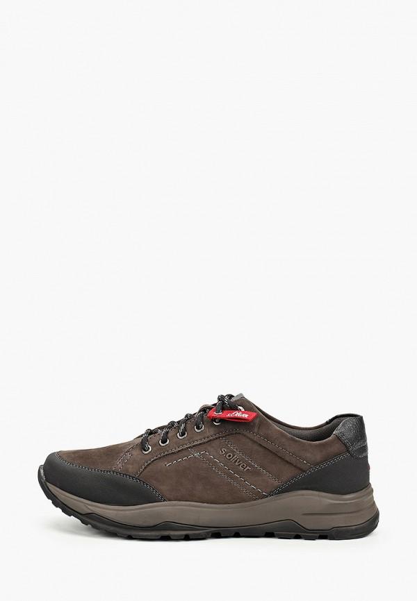 мужские кроссовки s.oliver, коричневые