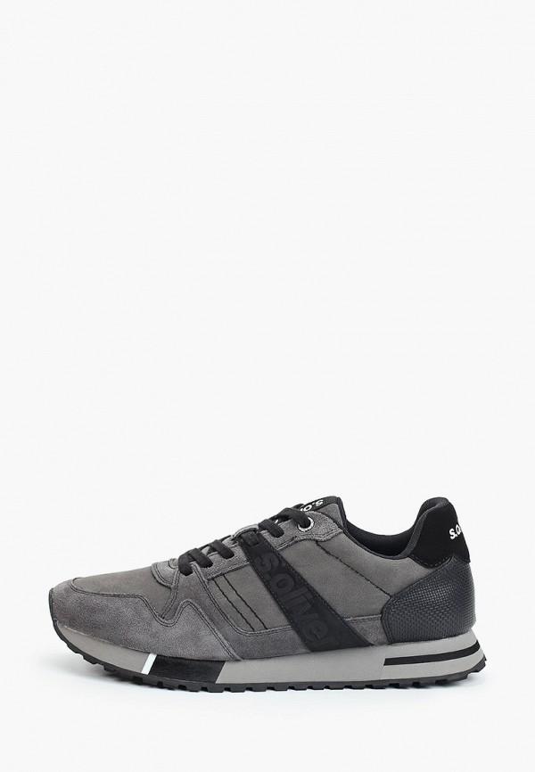 мужские низкие кроссовки s.oliver, серые