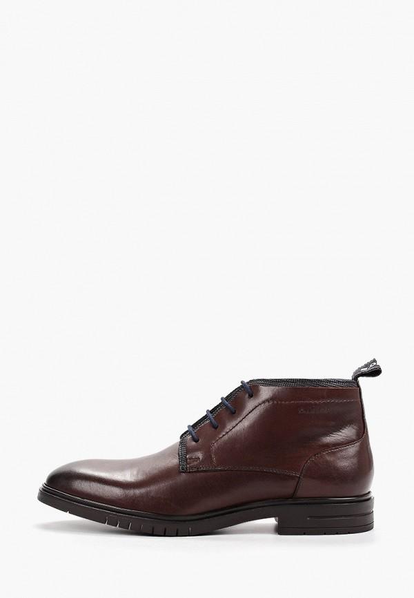 мужские ботинки s.oliver, коричневые