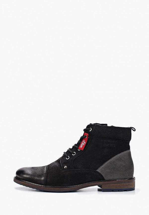 мужские ботинки s.oliver, черные