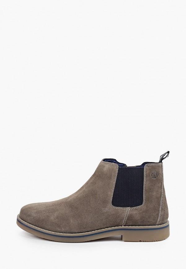 мужские высокие ботинки s.oliver, серые
