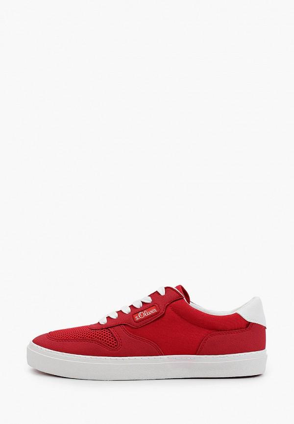 мужские кроссовки s.oliver, красные