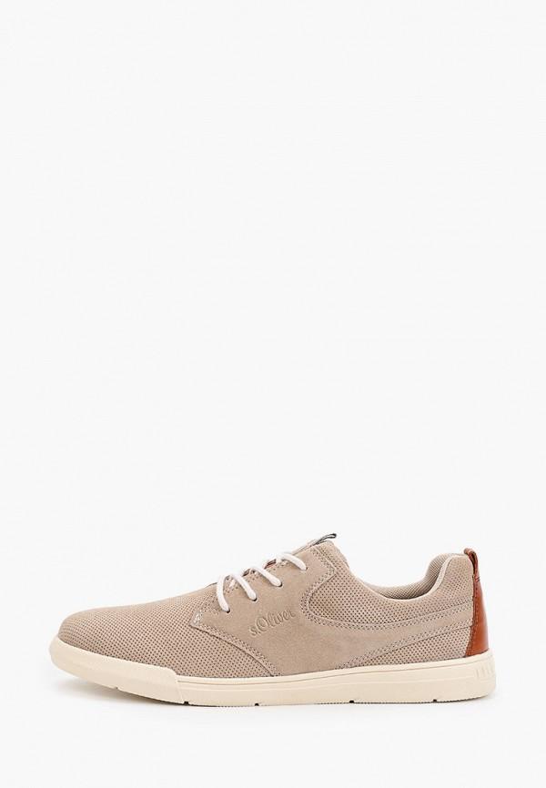 мужские ботинки s.oliver, бежевые