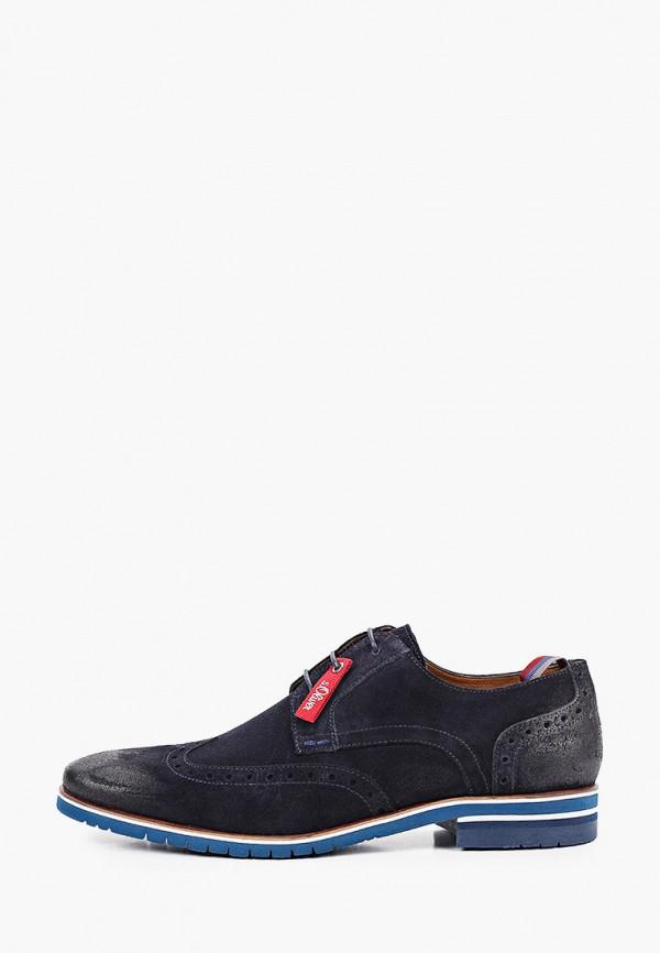 мужские туфли s.oliver, синие