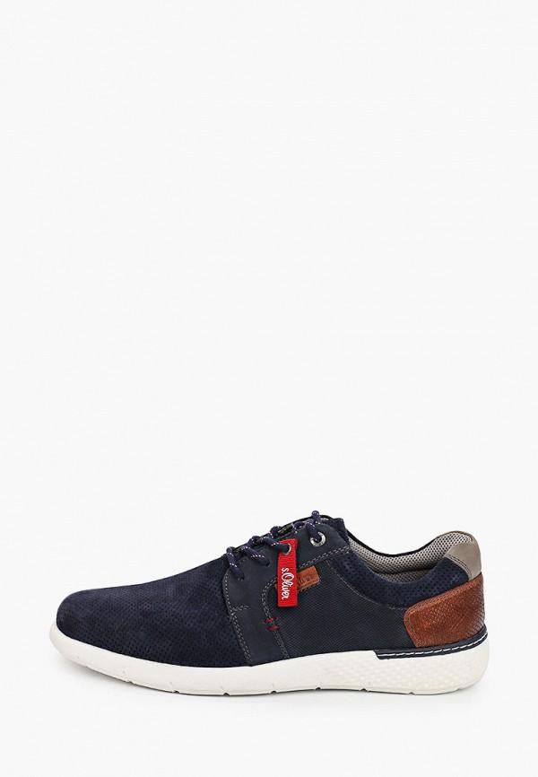 мужские ботинки s.oliver, синие