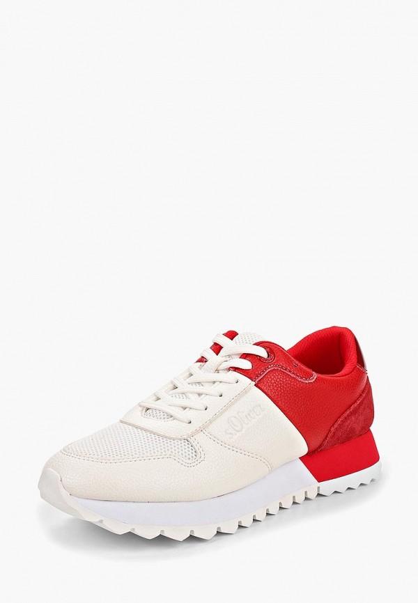 Фото 2 - женские кроссовки s.Oliver белого цвета