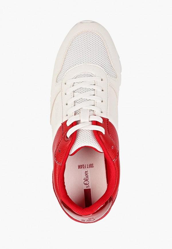 Фото 4 - женские кроссовки s.Oliver белого цвета