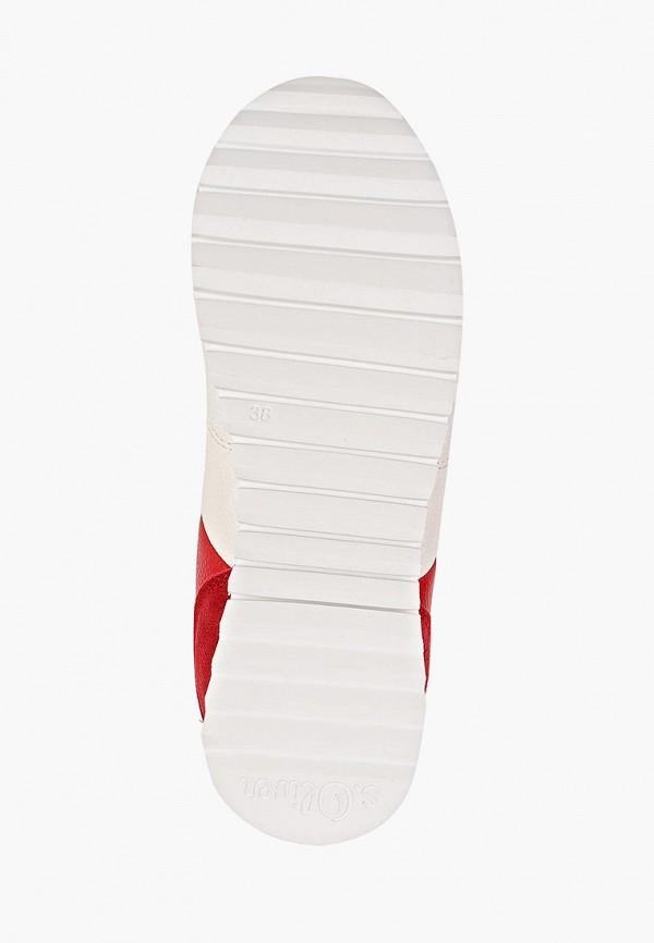 Фото 5 - женские кроссовки s.Oliver белого цвета