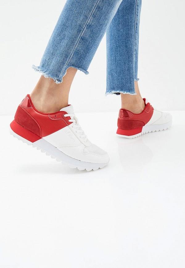 Фото 6 - женские кроссовки s.Oliver белого цвета