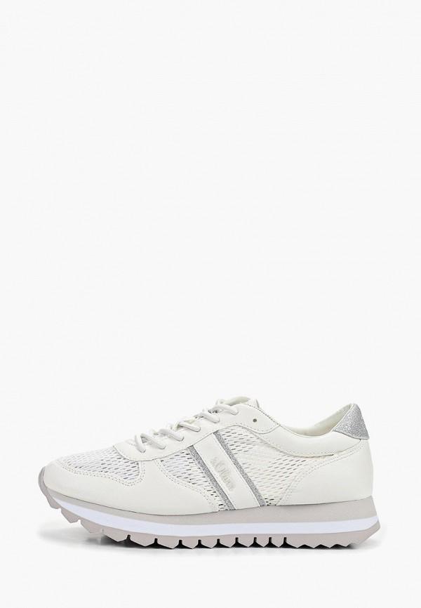 женские кроссовки s.oliver, белые