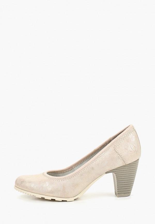 женские туфли s.oliver, золотые