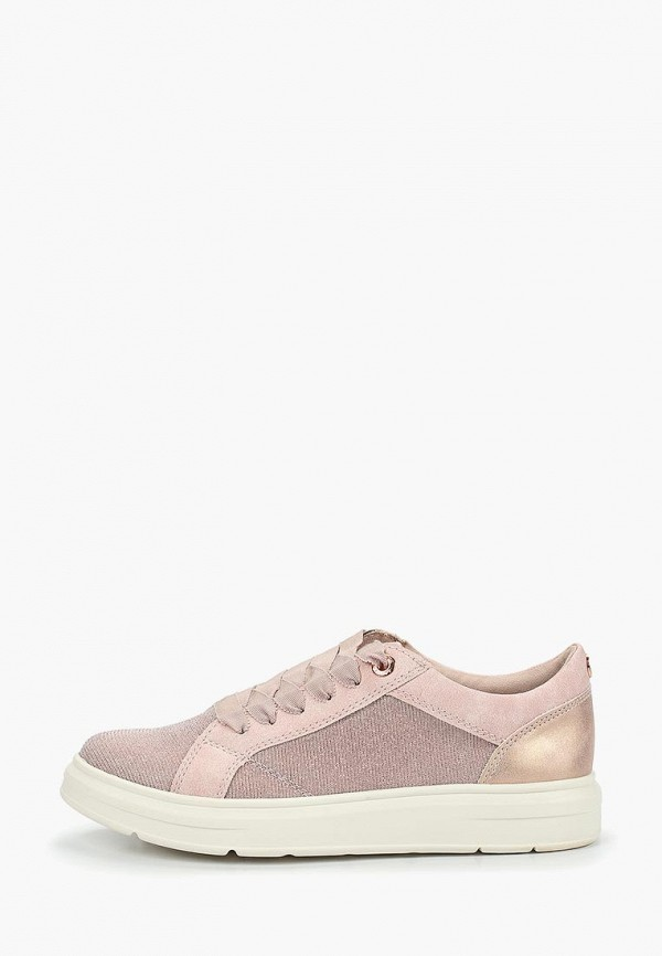 женские кеды s.oliver, розовые