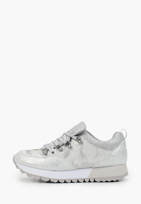 женские кроссовки s.oliver, серебряные