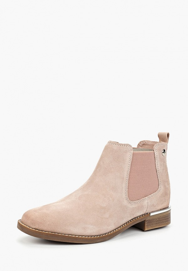 Фото 2 - Женские ботинки и полуботинки s.Oliver розового цвета