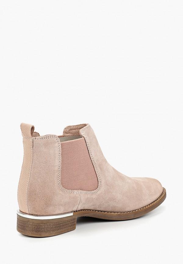 Фото 3 - Женские ботинки и полуботинки s.Oliver розового цвета