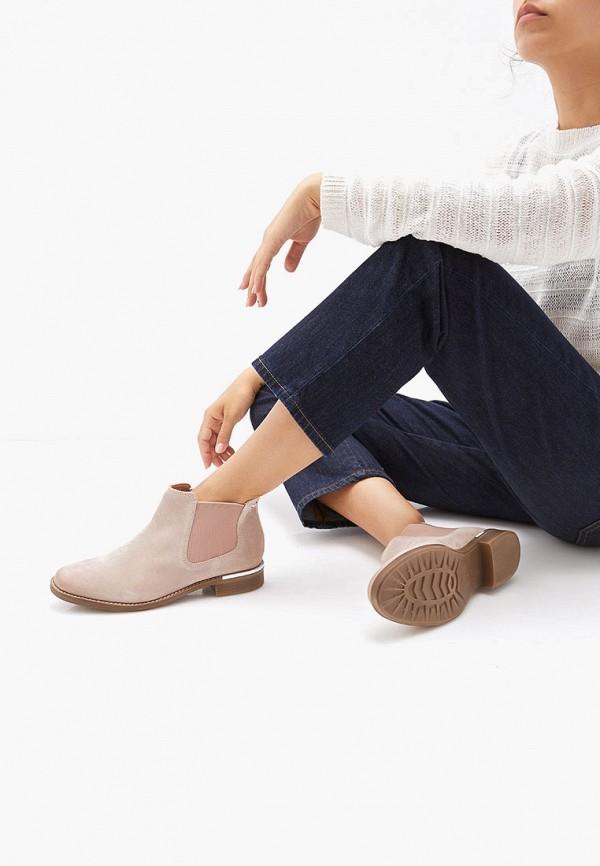 Фото 6 - Женские ботинки и полуботинки s.Oliver розового цвета